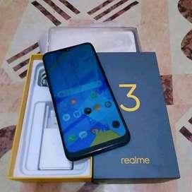 Realme 3 3/32 fullset + 100-200 nyari xiaomi redmi note 7