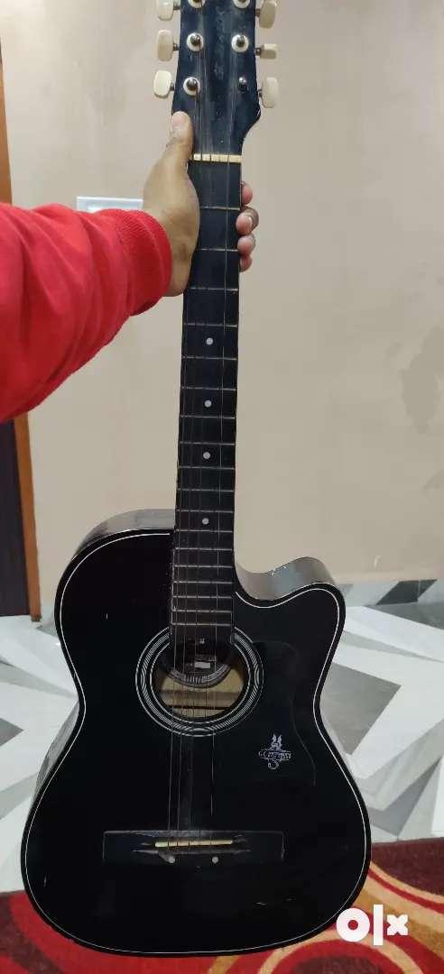 GC guitar black colour 3months old 0
