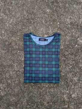 Tshirt topman tartan