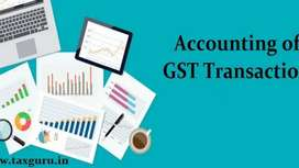 GST works and Accounting Works