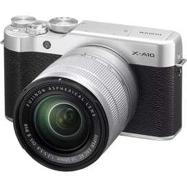 Kredit kamera Bandung FujiFilm X-A10 Proses Cepat Syarat mudah