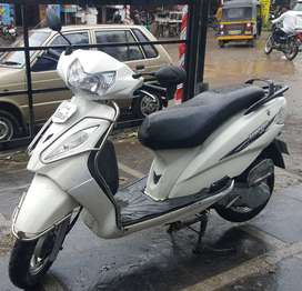 TVS Wego 2014 With Warranty