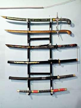Berbagai macam samurai bahan berkualitas