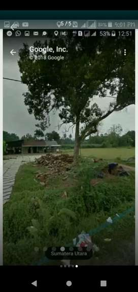 tanah ladang pinggir jalan