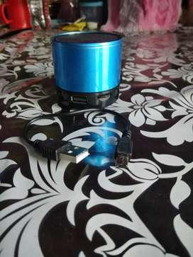 A Blue Speaker