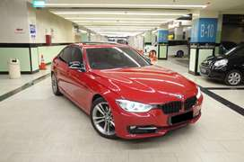 BMW F30 328i Melbourne Red On Black Sunroof Sport Mint Condition