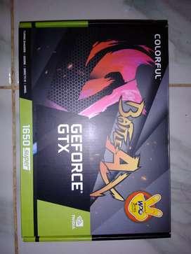VGA GTX 1650 super garansi 2023 colorful GTX 1650s nb 4gb ddr6