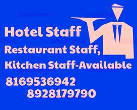 If You Required Any STAFF,,For Your Restaurant//Hotel//Cafe,