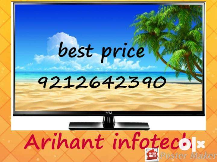 Smart led tv with one year warranty 0
