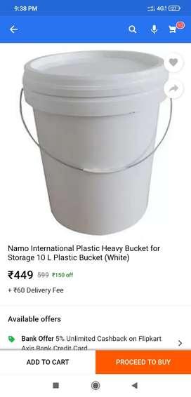 Paint bucket 20 litre