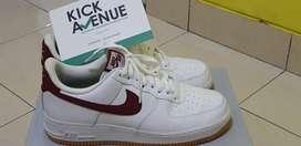 Sepatu Air Force 1 Low 07 Gum Medium Brown