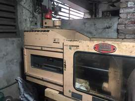 40 ton NESSI injection moulding machine in good working condition.