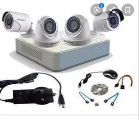 Required technician for Cctv camera installation
