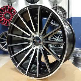 Pelg mobil jazz yaris mobilio ring 16 HSR wheel baut 4x100 dan 4x114,3