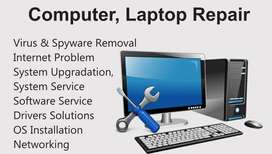 computer repair and service at home or office