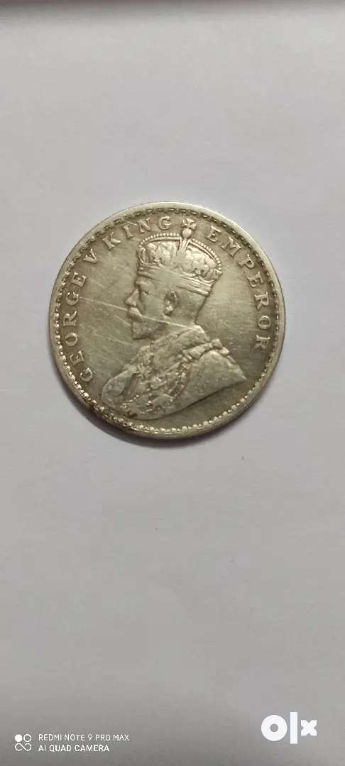 1918 one rupee coin for 10 lack
