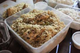 Huge order cooked food available on order for eid