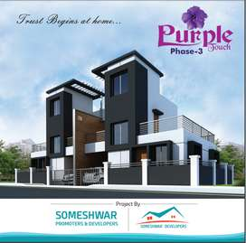 3 BHK row house available in lohegaon