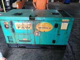 Diesel Silent FAW 25SS3,18KW, 22,5KVA, 3Phase