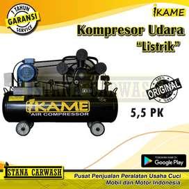 Kompresor Listrik / Kompresor Udara / Angin 5,5 PK - IKAME