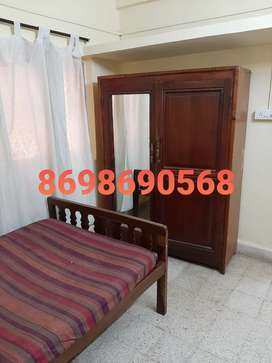 2bhk semi furnished in stinez at 13000 in gated building
