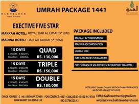 Umra Pakages & travelling services