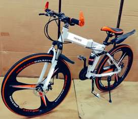 Folding cycle with 21 shimano gears sport model