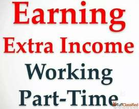 Earn weekly money while working at home