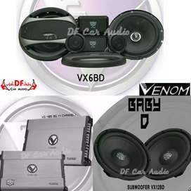 Paket Audio Venom Baby Diablo [ DF Car Audio]