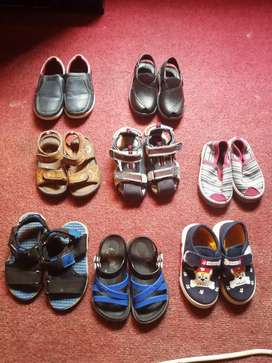 Small kids shoes for sail