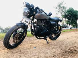 2015 Royal Enfield Continental GT 5000 Kms