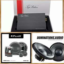 Paket Audio Prosesor Built In Power TOP PALACE, Flux Sporty