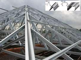 servis pemasangan atap baja ringan MENYEJUKKAN RUMAH ANDAH