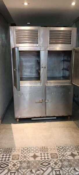 Aluminium D Freezer.