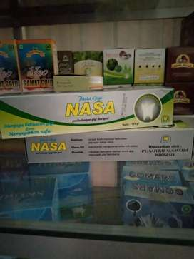 Herbal pasta gigi nasa alami herbal kios madu kurma zaitun kutuk gamat