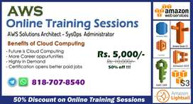 Online Training Sessions on Cloud Computing (AWS)