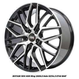 velg new,BOTAIN 1810 HSR R20X85 H5X114,3 ET45 BMF