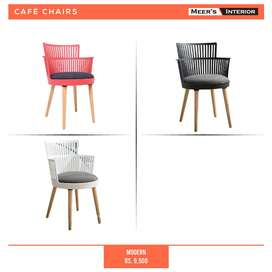 Cafe Chairs For Restaurants Fast Food Home & Outdoor Imported & local