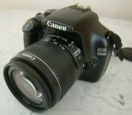 Canon 1100 d with prime lens 55 mm and 55 250 lens  17000 Mae