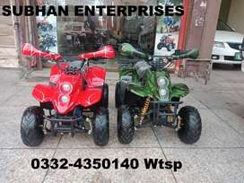 Self Start Petrol Atv Quad 4 Wheels Bikes Deliver In All Pakistan