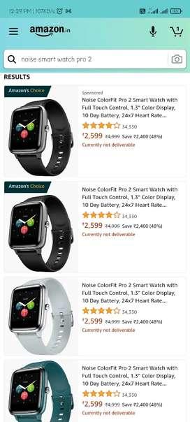 Noisefit smart watch pamjei