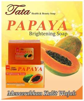 TATA PAPAYA BRIGHTENING SOAP 120GR