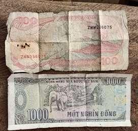 Dijual uang kuno