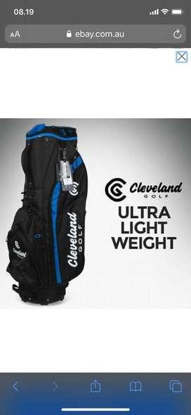 Golf Bag Cleveland Golf Cart | Tas