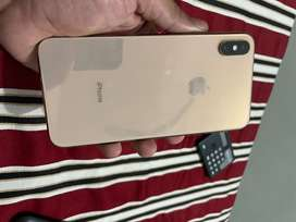 Iphone  Xs max gold 64 gb indian purchased