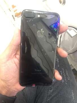 iPhone 7 Plus 128GB JetBlack Inter Like new fullset original