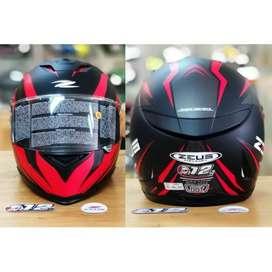 Zeus ZS822B JH 12th anniversary free dark visor 822B