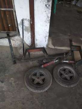 Handicap activa  tyres new