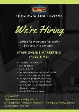 Staff Online Marketing