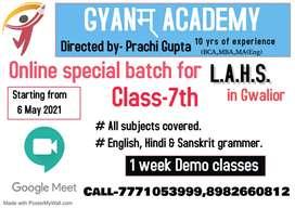 GGHS & LAHS  ke liye special batches